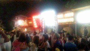 金岡神社の夏祭り