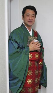供養祭を執り行った西栄寺さま