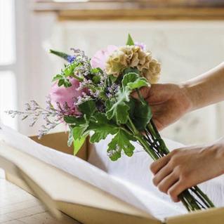 仏花のお届けサービス