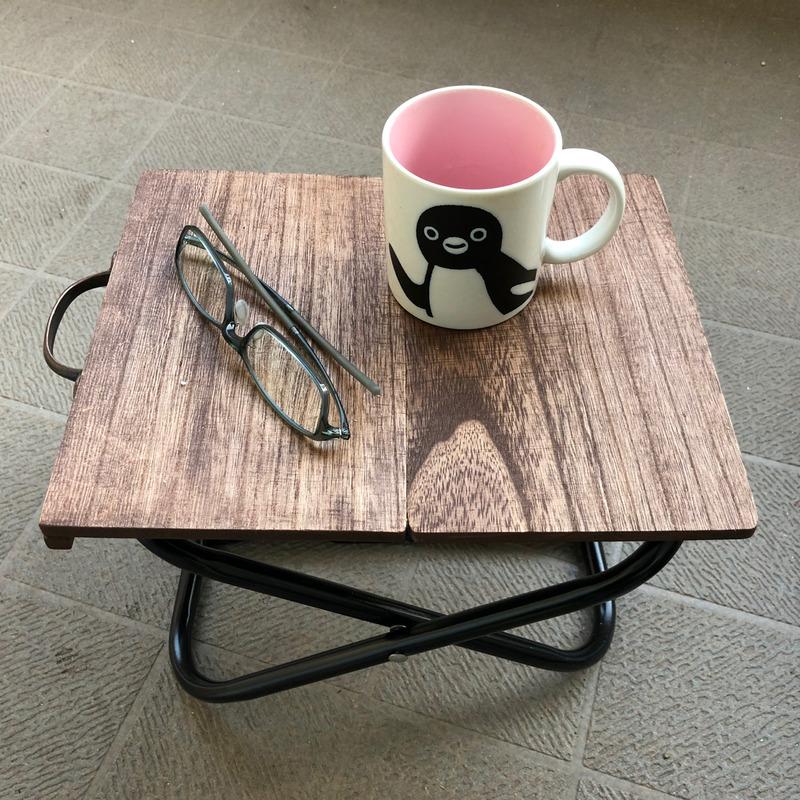 【キャンプ道具自作】セリアまな板、リメイク。ダイソーパイプ椅子で作った折りたたみテーブル