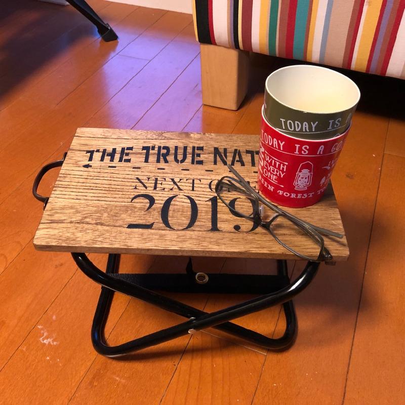 【キャンプ道具自作】100均まな板、リメイク。ダイソーパイプ椅子で作ったテーブル