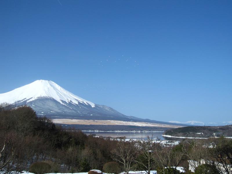 吉方位旅行。富士山、日本晴れ!