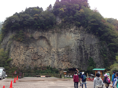 岐阜県:巌立(がんだて)公園