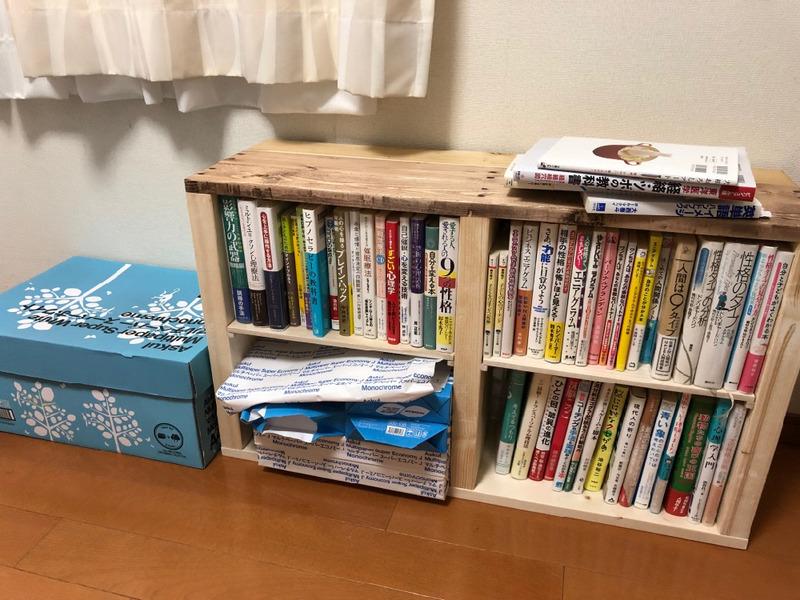 【DIY】ベンチ、本棚、画用紙収納の多目的家具をつくってみた。