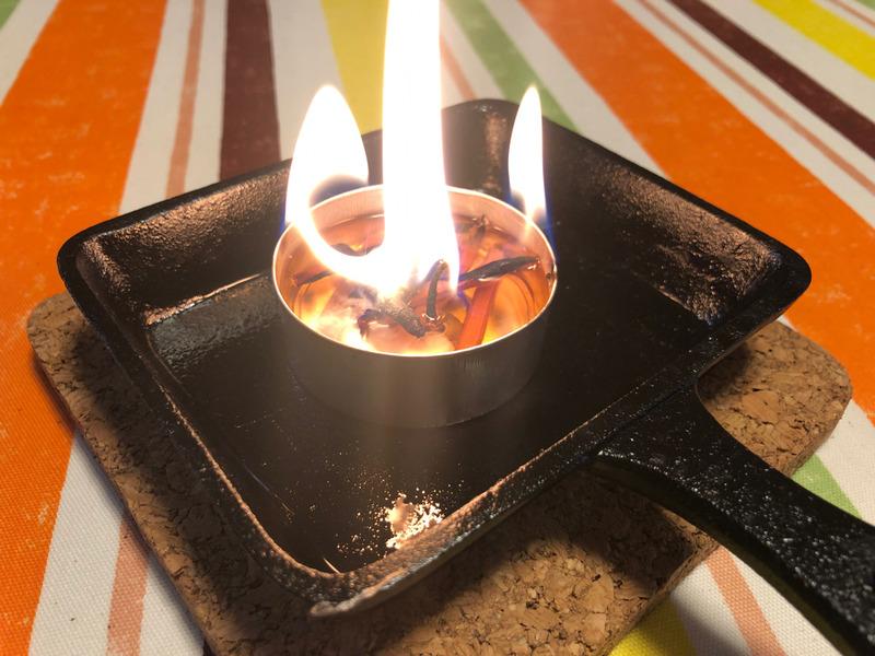 【おうちでもキャンプ】焚き火キャンドルをつくってみた。