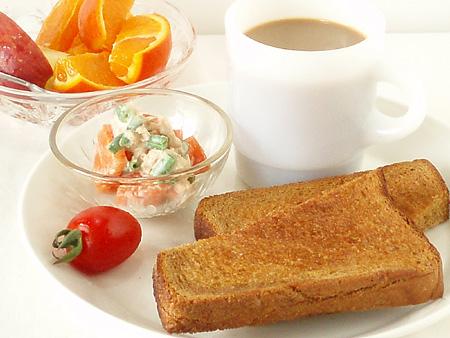 4/24の朝食