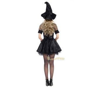 4721 黒 魔女 コスチューム コスプレ衣装