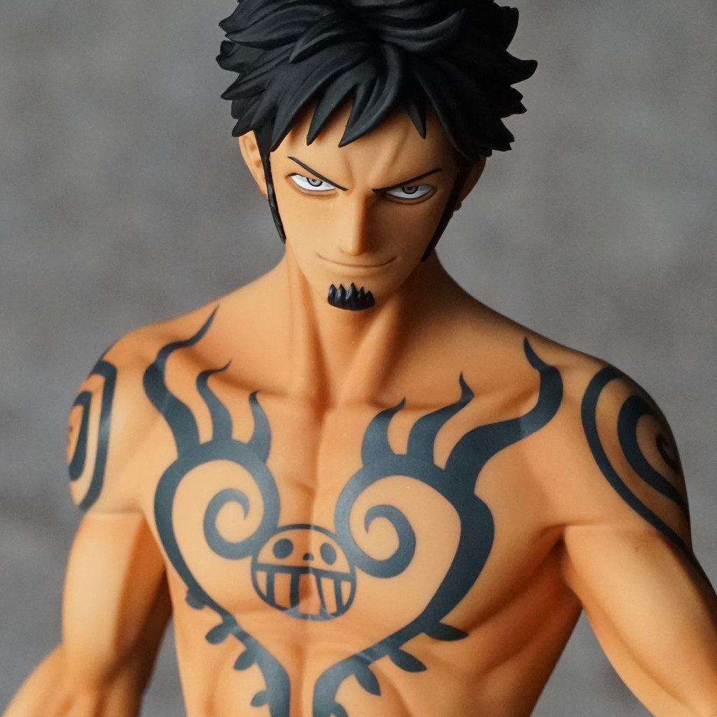 Pop limited edition ver 2 5 for One piece law tattoos