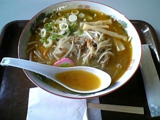 鶴や食堂(みそ野菜ラーメン)