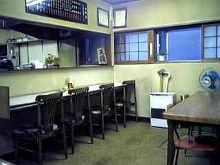 ふじ食堂(店内)