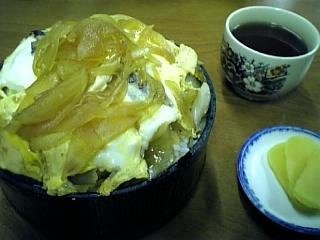 ふじ食堂(親子丼)