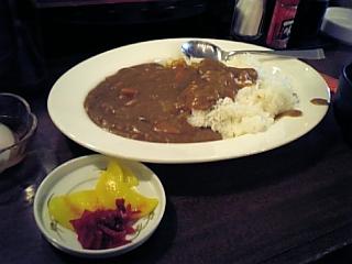 こめ八(カレー390円)