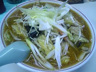龍宝(野菜味噌ラーメン01)