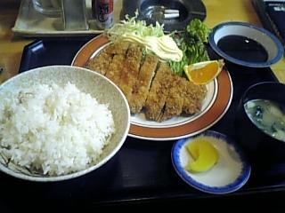 ラーメンの館(とんかつ定食)