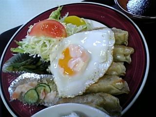 屯田ハウス(餃子定食02)