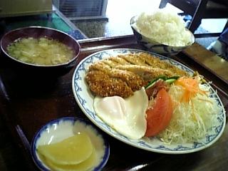 日の出食堂(かつライス01)