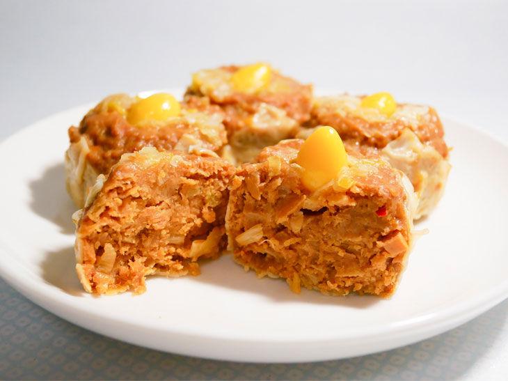 「国産鶏とねぎの甘辛味噌焼売」499円