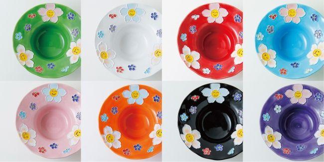 8色のかわいい菓子氷専用皿