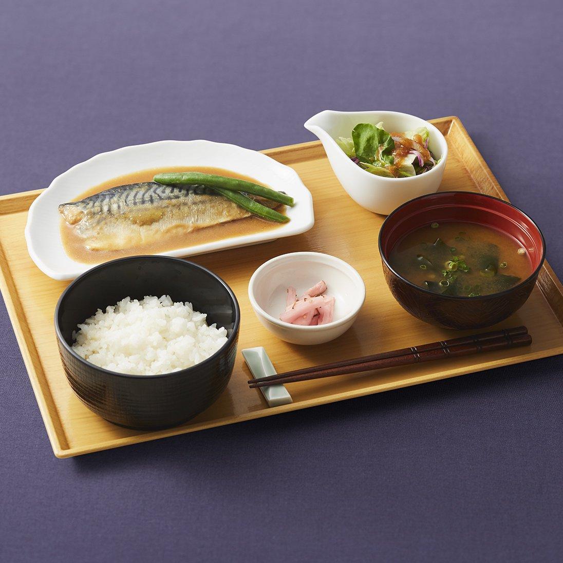 ココス「さば味噌煮膳」