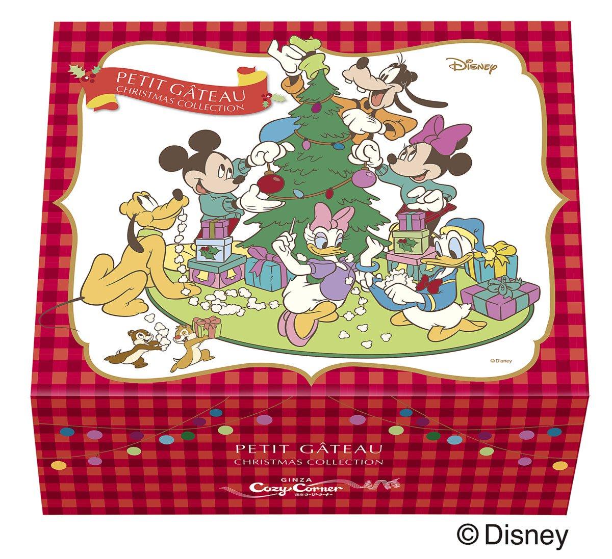 銀座コージーコーナー <ディズニー>クリスマス・コレクション(9個入)ボックス