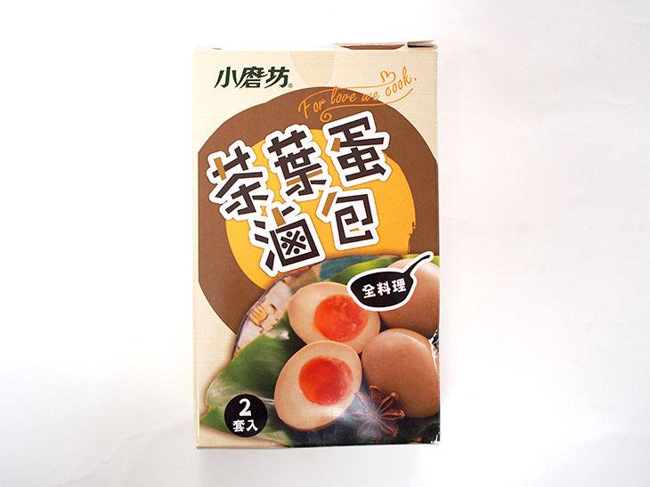 今回購入した茶葉蛋のセットは、2回分の茶葉と香辛料が入って約120円。あとは自分で卵や調味料を用意する