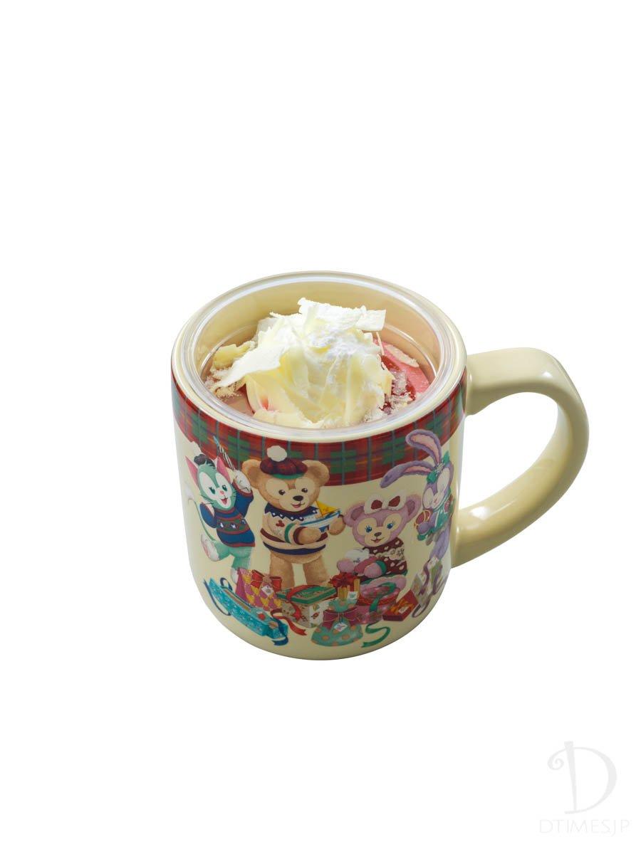 ラズベリー&ホワイトチョコムース スーベニアカップつき2