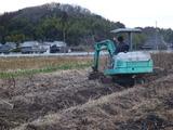20140117うど掘り開始