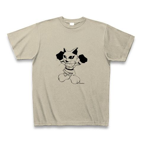 CatBoxer・Tシャツシルバーグレー