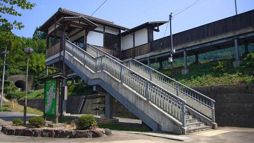 岡山県美作市今岡・宮本武蔵駅