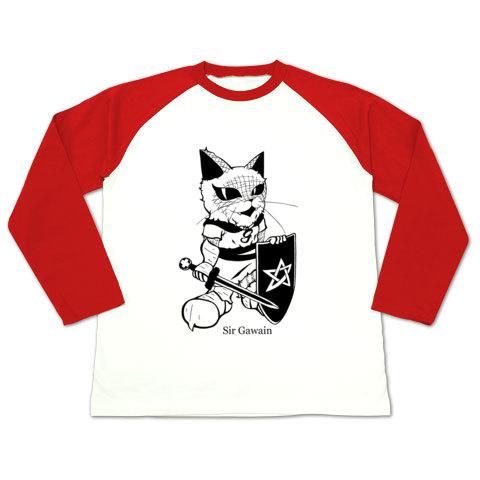 ガウェイン・ラグラン長袖Tシャツ赤