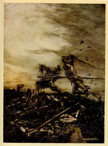 How_Mordred_was_Slain_by_Arthur
