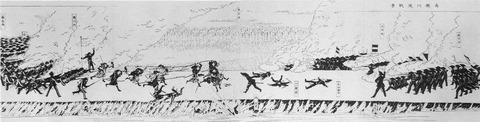 高瀬川堤での戦闘(鳥羽・伏見)