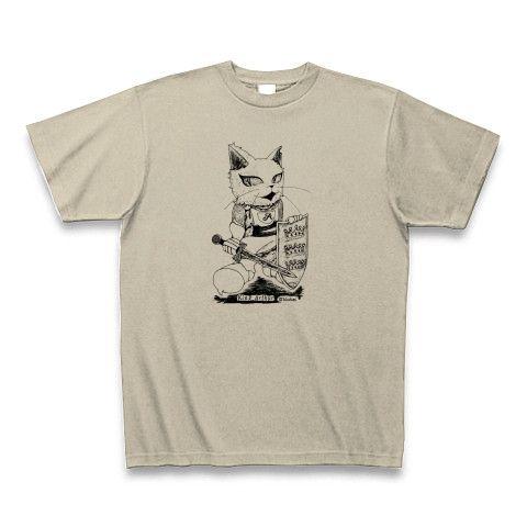 アーサー王Tシャツ・シルバーグレー
