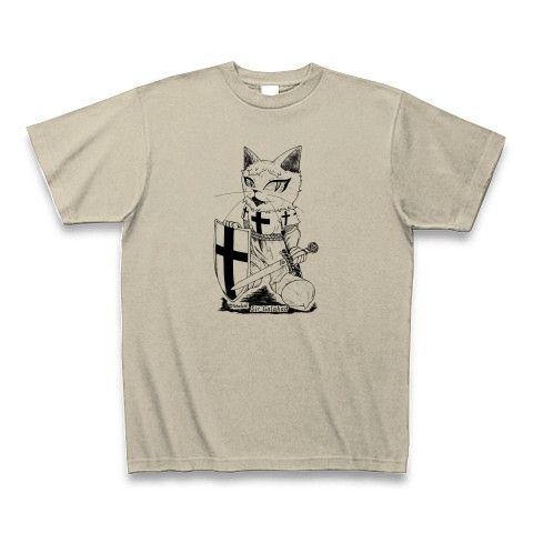 ガラハッドTシャツ・シルバーグレー