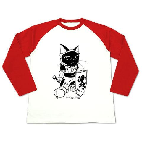 トリスタン・ラグラン長袖Tシャツ赤