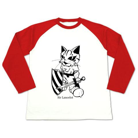 ランスロット・ラグラン長袖Tシャツ赤