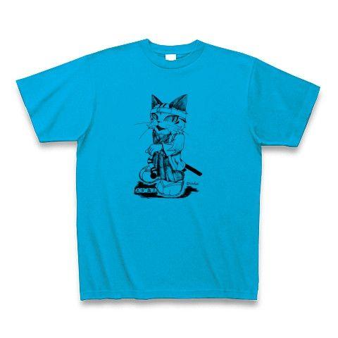土方歳三Tシャツ・ターコイズ