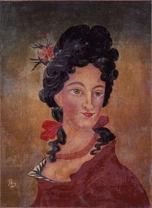 西洋婦人図