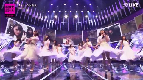 乃木坂46 しあわせの保護色 CDTV ライブ!ライブ!