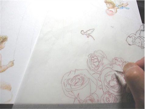 薔薇トレース