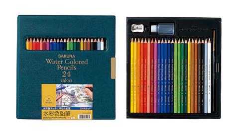 サクラ水彩色鉛筆