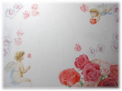 バラ描き2