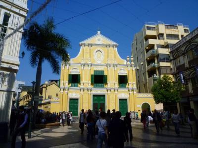 マカオ3(聖ドミニコ教会)