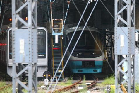 小田急RSE解体20001編成 (7)