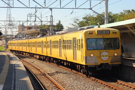 西武多摩川線さよなら101系 (5)