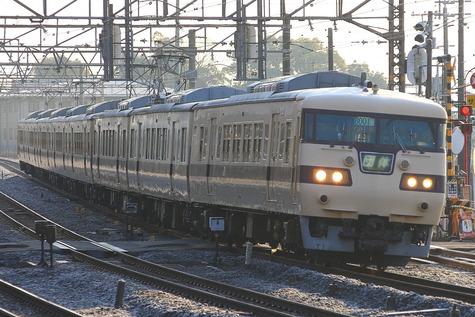 117系0番台国鉄標準色