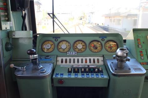 西武多摩川線さよなら101系 (7)