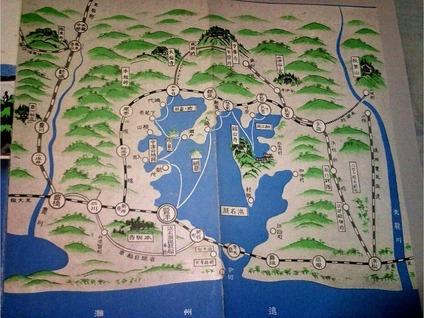 浜名湖巡航船の航路