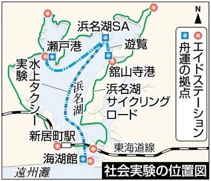 浜名湖社会実験
