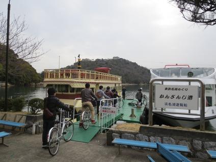 浜名湖遊覧船かんざんじ港